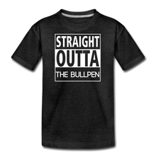 Load image into Gallery viewer, Straight Outta The Bullpen Kids' Premium Tee - charcoal gray