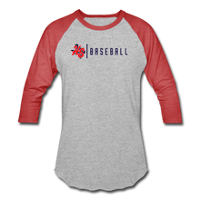 Load image into Gallery viewer, HS Baseball T-Shirt - heather gray/red