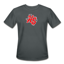 Load image into Gallery viewer, HotShots Logo Adult Dri-Fit - charcoal