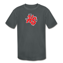 Load image into Gallery viewer, HotShots Logo Youth Dri-Fit - charcoal