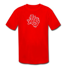 Load image into Gallery viewer, HotShots Logo Youth Dri-Fit - red