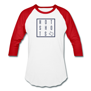 HotShots Square Baseball T-Shirt - white/red