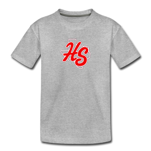 HotShots Logo Toddler Premium T-Shirt - heather gray