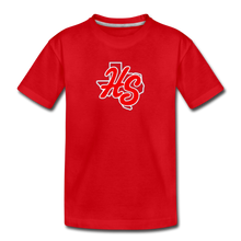 Load image into Gallery viewer, HotShots Logo Toddler Premium T-Shirt - red