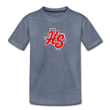 Load image into Gallery viewer, HotShots Logo Toddler Premium T-Shirt - heather blue