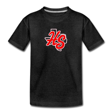 Load image into Gallery viewer, HotShots Logo Toddler Premium T-Shirt - charcoal gray