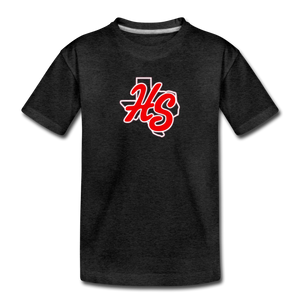 HotShots Logo Toddler Premium T-Shirt - charcoal gray