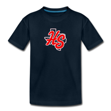 Load image into Gallery viewer, HotShots Logo Toddler Premium T-Shirt - deep navy