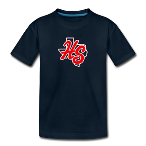 HotShots Logo Toddler Premium T-Shirt - deep navy