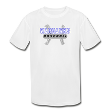 Load image into Gallery viewer, Warhawks Baseball Seams Youth Dri-Fit - white