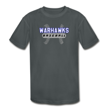 Load image into Gallery viewer, Warhawks Baseball Seams Youth Dri-Fit - charcoal