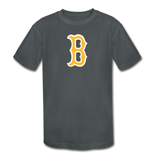 Beaumont Bruins Logo Youth Dri-Fit - charcoal