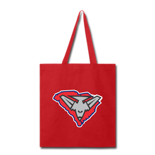 Load image into Gallery viewer, East Coast Bombers Logo Tote Bag-Customize Me! - red