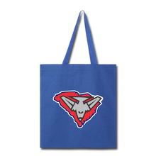 Load image into Gallery viewer, East Coast Bombers Logo Tote Bag-Customize Me! - royal blue