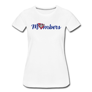 East Coast Mombers Women's Premium T-Shirt - white