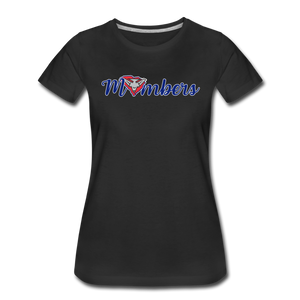 East Coast Mombers Women's Premium T-Shirt - black