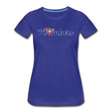 Load image into Gallery viewer, East Coast Mombers Women's Premium T-Shirt - royal blue
