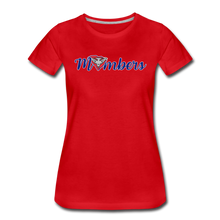 Load image into Gallery viewer, East Coast Mombers Women's Premium T-Shirt - red