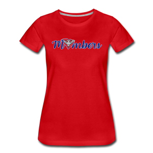 East Coast Mombers Women's Premium T-Shirt - red