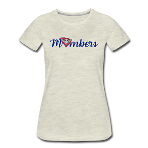 East Coast Mombers Women's Premium T-Shirt - heather oatmeal