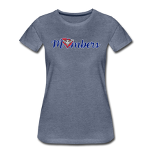 Load image into Gallery viewer, East Coast Mombers Women's Premium T-Shirt - heather blue
