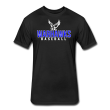 Load image into Gallery viewer, CUSTOMIZE ME!! Warhawks Bold Fitted Cotton/Poly T-Shirt by Next Level - black