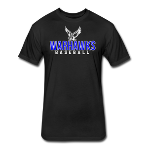 CUSTOMIZE ME!! Warhawks Bold Fitted Cotton/Poly T-Shirt by Next Level - black