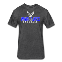 Load image into Gallery viewer, CUSTOMIZE ME!! Warhawks Bold Fitted Cotton/Poly T-Shirt by Next Level - heather black