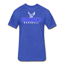 Load image into Gallery viewer, CUSTOMIZE ME!! Warhawks Bold Fitted Cotton/Poly T-Shirt by Next Level - heather royal