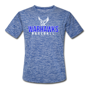 Customize ME!! Warhawks Bold Adult Dri-Fit - heather blue