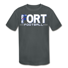 Load image into Gallery viewer, Fort Football Youth Dri-Fit Customize Me!! - charcoal