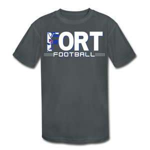 Fort Football Youth Dri-Fit Customize Me!! - charcoal