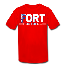 Load image into Gallery viewer, Fort Football Youth Dri-Fit Customize Me!! - red