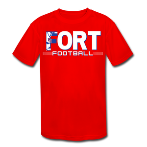 Fort Football Youth Dri-Fit Customize Me!! - red