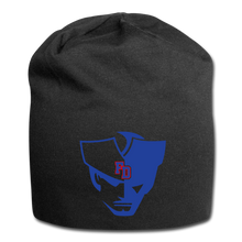 Load image into Gallery viewer, Fort Dorchester Patriot Jersey Beanie - black