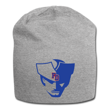 Load image into Gallery viewer, Fort Dorchester Patriot Jersey Beanie - heather gray