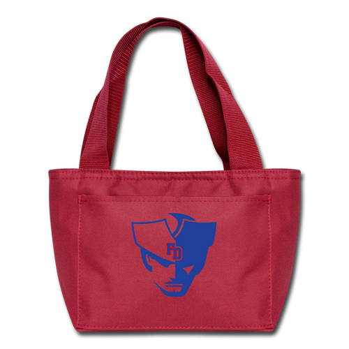 Fort Patriot Lunch Bag - red