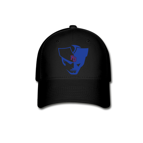 Fort Dorchester Patriot Fitted Baseball Cap- Customize ME!! - black