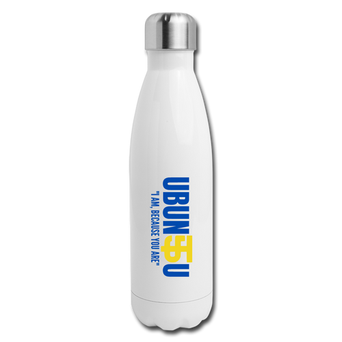 Five Tool UBUNTU Insulated Stainless Steel Water Bottle-CUSTOMIZE ME! - white