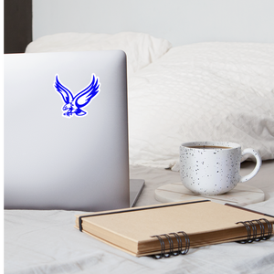 Warhawks Logo Sticker - white matte