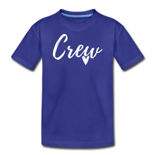 Load image into Gallery viewer, Crew Love Kids' Premium T-Shirt- Customize Me! - royal blue