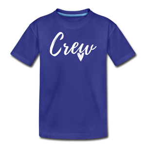 Crew Love Kids' Premium T-Shirt- Customize Me! - royal blue