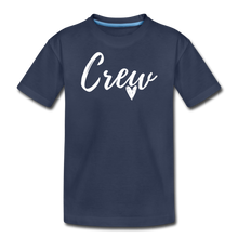 Load image into Gallery viewer, Crew Love Kids' Premium T-Shirt- Customize Me! - navy