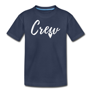 Crew Love Kids' Premium T-Shirt- Customize Me! - navy