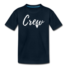 Load image into Gallery viewer, Crew Love Kids' Premium T-Shirt- Customize Me! - deep navy