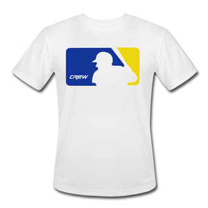 Crew Love Baseball Custom Colors Adult Dri-Fit- Customize Me! - white
