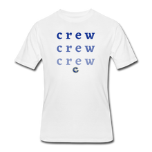 Load image into Gallery viewer, Crew Ombre Men's 50/50 T-Shirt- Customize Me! - white