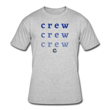 Load image into Gallery viewer, Crew Ombre Men's 50/50 T-Shirt- Customize Me! - heather gray