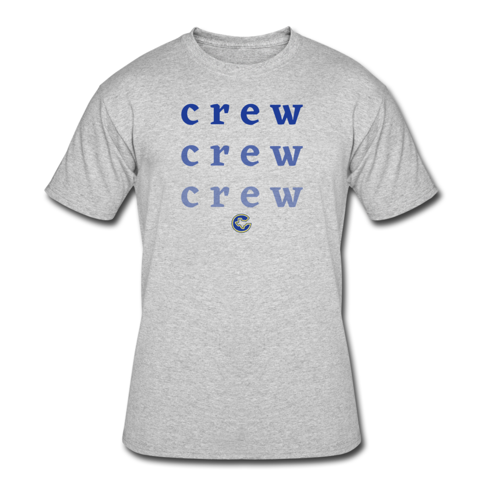 Crew Ombre Men's 50/50 T-Shirt- Customize Me! - heather gray