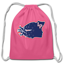 Load image into Gallery viewer, Lady Patriot Cotton Drawstring Bag-Customize Me! - pink